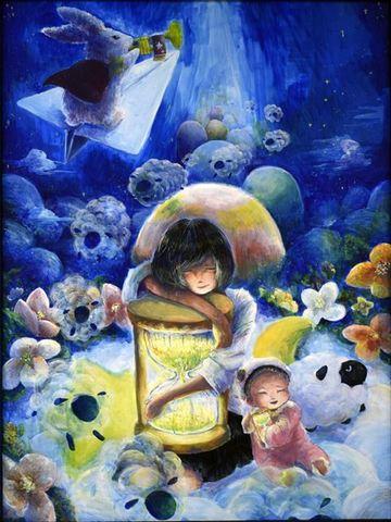 米澤藍「眠り姫」_R.jpg